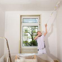 Подготовка под покраску и покраска потолка из гипсокартона, как и чем покрасить потолок самостоятельно, как красить потолки