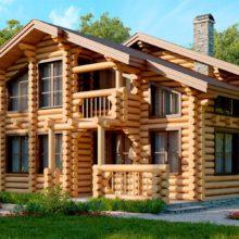 Типы домов, строящихся обычно — рубленные, брусовые, каркасные, кирпичные, монолитные