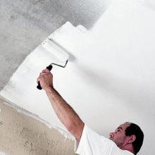 Побелка потолка — все секреты и тонкости.Как и чем правильно побелить потолок своими руками. Подготовка потолка. Снятие и очистка побелки со старого потолка. Как белить быстро.
